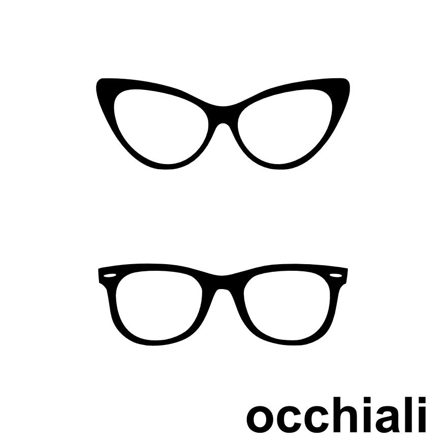 Adesivi per specchio - Occhiali per truccarsi allo specchio ...