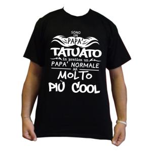 maglietta papà tatuato