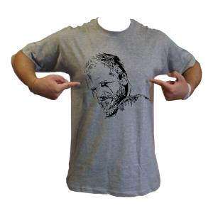 maglietta loki floki vettoriale viso