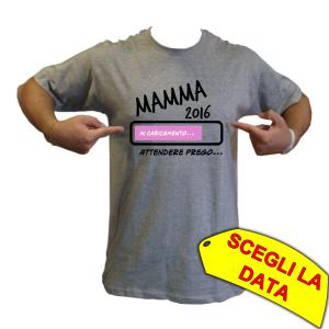 maglietta futura mamma bimba femminuccia