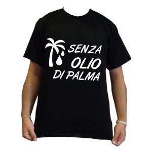 senza olio di palma maglietta