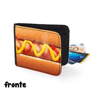 fronte portafoglio hotdog gadget cibo cuoco chef regalo