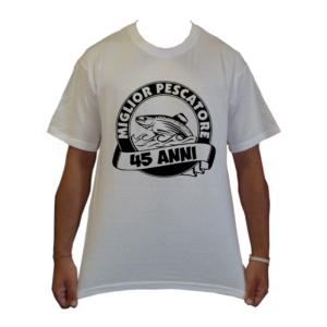 maglietta t-shirt pesca miglior pescatore compleanno loghi pescatore