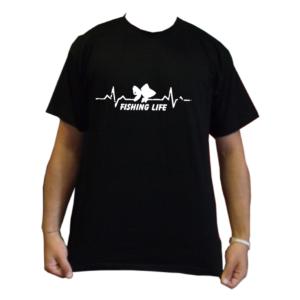 maglietta t-shirt pescatori pesca FISHING LIFE VITA DA PESCATORE