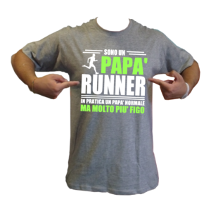 t-shirt papà runner