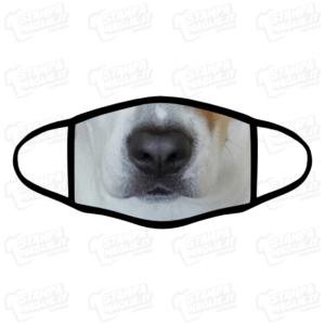 Mascherina Cane dog muso animale domestico compagnia cucciolo divertente simpatico regalo lavabile covid amici a quattro 4 zampe