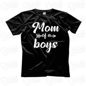 T-shirt Mom of a boy mamma di un bambino regalo festa della mamma mother mother's day regalo last minute 24 ore bambino