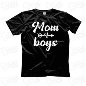 T-shirt Mom of boys mamma di bambini regalo festa della mamma mother mother's day regalo last minute 24 ore bambino