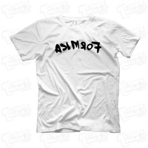 T-shirt maglia maglietta Formica acimrof Frank Matano divertente LoL lol chi ride è fuori fedez Amazon Prime meme programma tv risata ridere Lillo