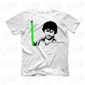 T-shirt maglia maglietta Frank Matano bastone luminoso divertente LoL lol chi ride è fuori fedez Amazon Prime meme programma tv risata ridere Lillo