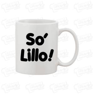 Tazza gadget T-shirt maglia maglietta So' Lillo! scritta Posaman Lillo LoL lol chi ride è fuori fedez Lillo e greg Amazon Prime So'Lillo Petrolo meme programma tv risata ridere sono lillo