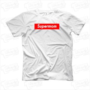 Tshirt maglia maglietta Supermom regalo festa della mamma