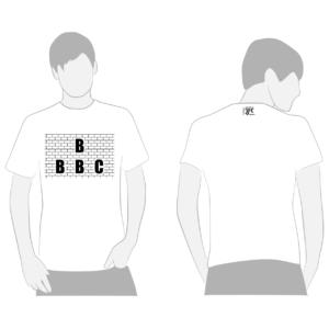 b b b c formazione juventus muro t-shirt maglia maglietta