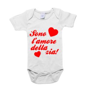 body neonato sono l'amore della zia