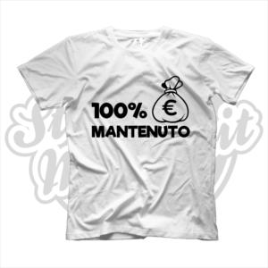 maglietta t-shirt maglia tshirt lavoro 100% mantenuto