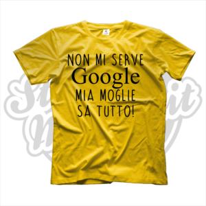 maglietta Google