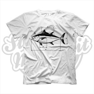 maglietta t-shirt pescatori pesca tonno pesce dimensioni tecnico pescatore regalo