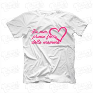 maglietta tshirt t-shirt la mia prima festa della mamma idea regalo idea regalo perfetta per la festa della mamma