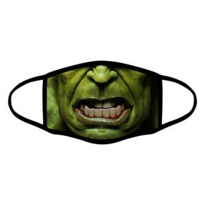 mascherina bordo nero hulk personalizzata covid19 lavabile