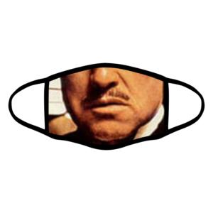 mascherina bordo nero il padrino don vito corleone personalizzata covid19 lavabile