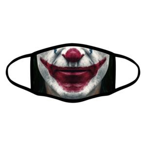 mascherina bordo nero joker personalizzata covid19 lavabile