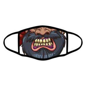 mascherina bordo nero pirata personalizzata covid19 lavabile divertente simpatica
