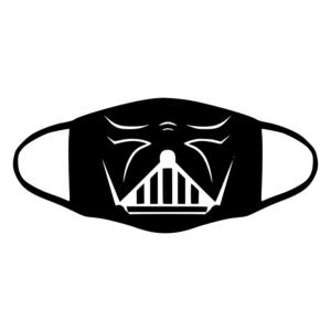 mascherina bordo nero star wars darth vader personalizzata covid19 lavabile