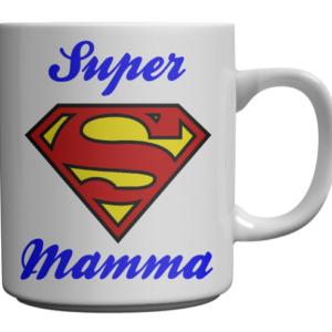tazza super mamma festa della mamma compleanno