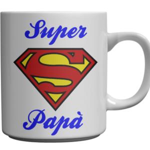 tazza super papà festa del papà compleanno babb